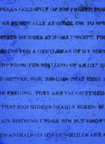 黑暗的印刷品浅灰蓝色背景 免版税库存照片