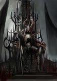 黑暗的国王 免版税库存照片