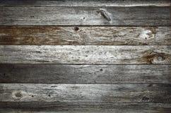 黑暗的土气谷仓木头纹理 库存图片