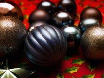 黑暗的圣诞节 库存照片