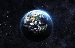 黑暗的地球 库存图片