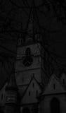 黑暗的城堡 图库摄影