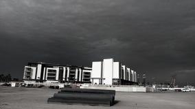 黑暗的天空 库存图片