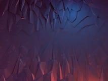 黑暗的岩石纹理 免版税库存照片