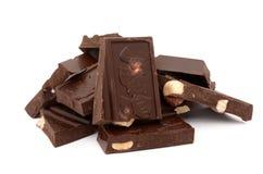 黑暗的巧克力 免版税图库摄影