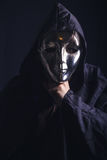 黑暗的恐怖幽灵 免版税库存图片