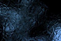 黑暗的抽象水晶背景 免版税库存照片