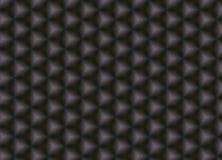 黑暗的方形的皮革样式 免版税库存图片