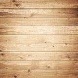 黑暗的木木条地板 免版税库存照片