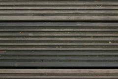 黑暗的木线地板纹理 图库摄影