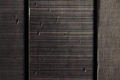 黑暗的木头 库存照片