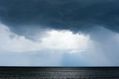 黑暗的波罗的海 免版税库存图片