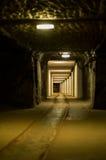 黑暗的矿 免版税库存照片