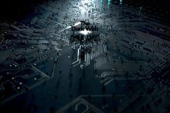 黑暗的网概念 免版税库存图片