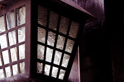 黑暗的美丽的灯 免版税库存图片