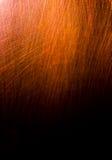 黑暗的老可怕生锈的概略的金黄和铜金属表面纹理/背景为万圣夜或被困扰的房子比赛背景/文本 免版税库存图片