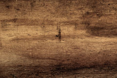 黑暗的老木纹理 库存图片