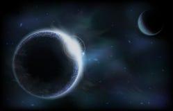 黑暗的行星 图库摄影