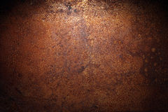 黑暗的铁锈背景 免版税图库摄影