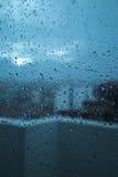 黑暗的雨天 免版税库存照片