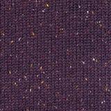 黑暗的紫色被编织的织品纹理 免版税库存图片