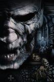 黑暗的deadman画象  免版税库存照片