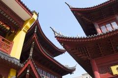 暗藏的上海:上海玉佛寺,一个非常精神地方 免版税库存照片