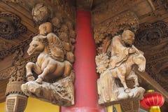 暗藏的上海:上海玉佛寺,一个非常精神地方 库存照片