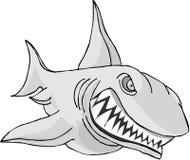 暴牙的鲨鱼 免版税库存照片