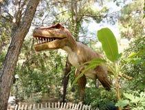 暴龙雷克斯后白垩纪/150-65百万年前 在 免版税图库摄影