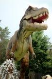 暴龙雷克斯是最大的食肉动物的恐龙 免版税库存照片