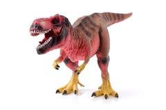 暴龙rex恐龙塑料玩具 免版税库存图片