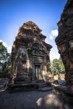 暹粒吴哥窟Preah Ko联合国科教文组织 免版税库存照片