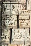 暹粒,柬埔寨-公寸10 2016年:在Baphuon寺庙的安心在A 免版税库存图片