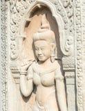 暹粒,柬埔寨-公寸10 2016年:在Baphuon寺庙的安心在A 库存照片