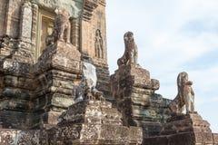 暹粒,柬埔寨- 2016年12月11日:前Rup在吴哥 著名h 库存图片