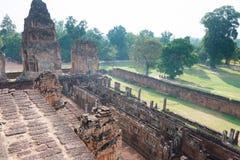 暹粒,柬埔寨- 2016年12月11日:前Rup在吴哥 著名h 免版税库存图片