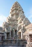 暹粒,柬埔寨- 2016年12月05日:吴哥窟 一著名历史 图库摄影
