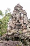 暹粒,柬埔寨- 2016年12月13日:死者的门吴哥Th的 免版税图库摄影