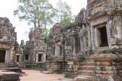 暹粒,柬埔寨- 2016年11月30日:Chau在吴哥说Tevoda A 库存图片