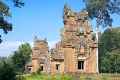暹粒,柬埔寨- 2016年12月11日:Prasat在吴哥Th的Suor Prat 免版税库存图片