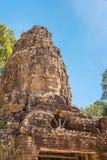 暹粒,柬埔寨- 2016年11月30日:Ta Prohm寺庙在吴哥 A 库存照片