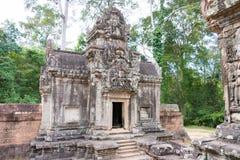 暹粒,柬埔寨- 2016年11月30日:Thommanon寺庙在吴哥 A 免版税库存图片