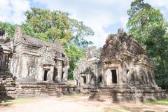 暹粒,柬埔寨- 2016年11月30日:Thommanon寺庙在吴哥 A 免版税库存照片