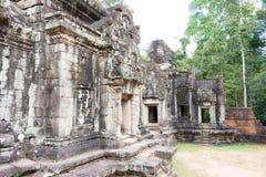 暹粒,柬埔寨- 2016年11月30日:Thommanon寺庙在吴哥 A 库存照片