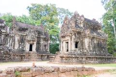 暹粒,柬埔寨- 2016年11月30日:Thommanon寺庙在吴哥 A 库存图片