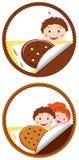 曲奇饼例证 免版税库存照片