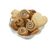 曲奇饼另外种类花瓶 免版税库存照片