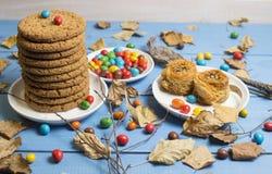 曲奇饼和其他甜点 免版税库存图片