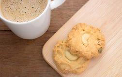 曲奇饼和咖啡 库存照片